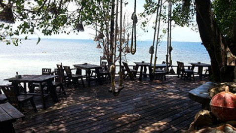 Koh Raham Restaurant in Haad Son
